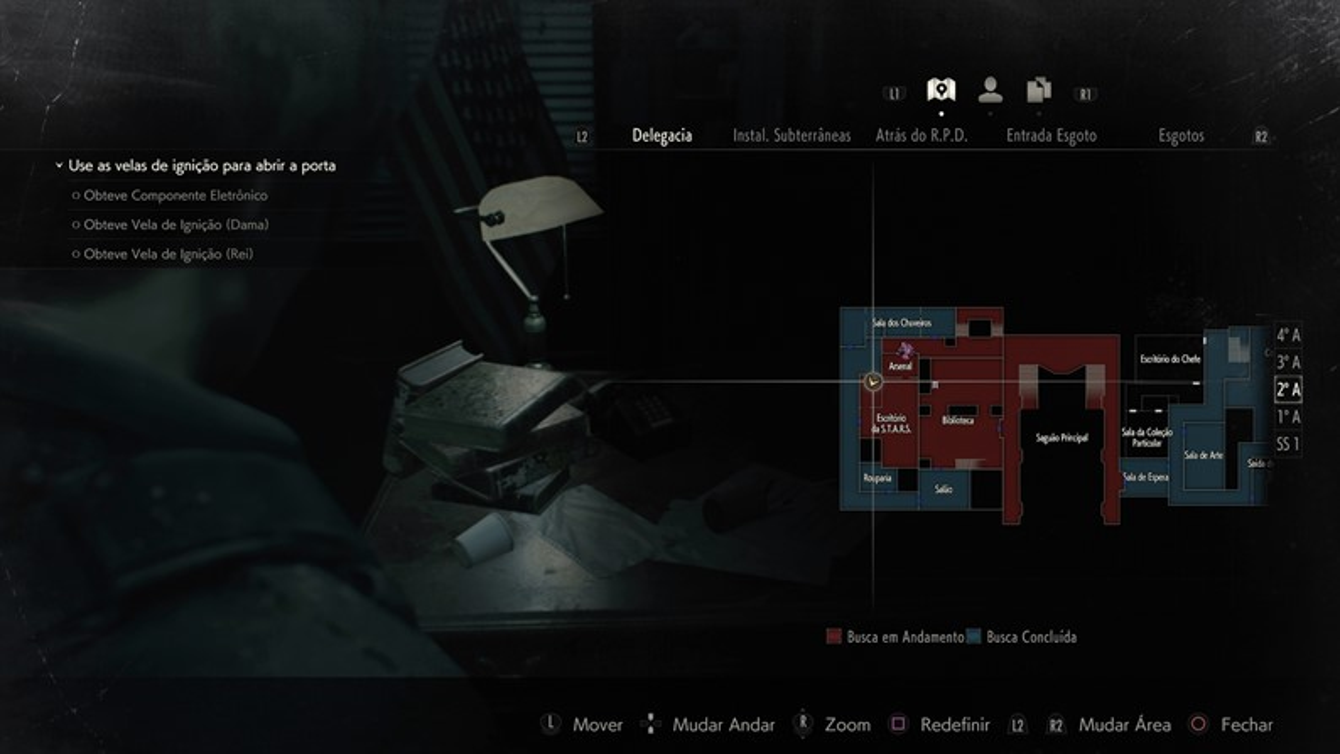 Resident Evil 2 Remake: guia para pegar a foto secreta de Rebecca Chambers
