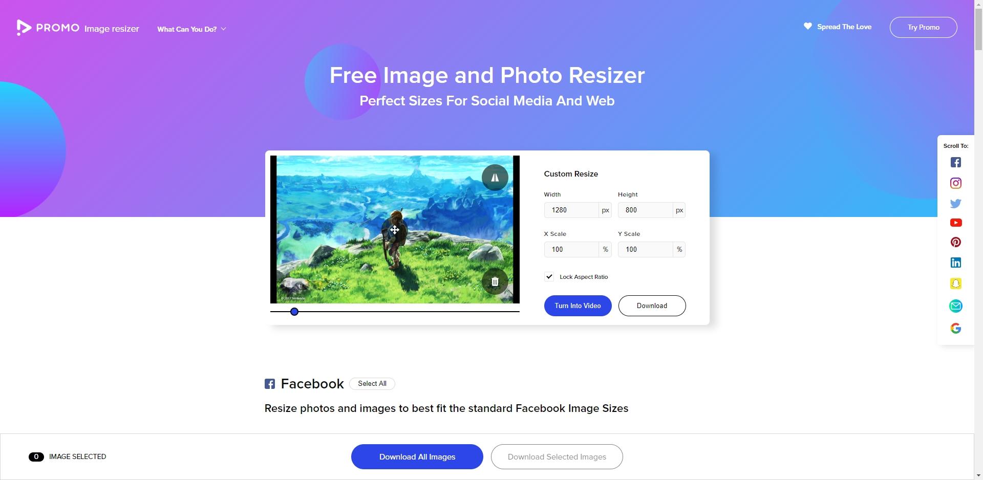 PROMO Image Resizer - Imagem 1 do software