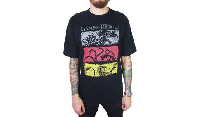 10 camisetas para você acompanhar a última temporada de Game of Thrones