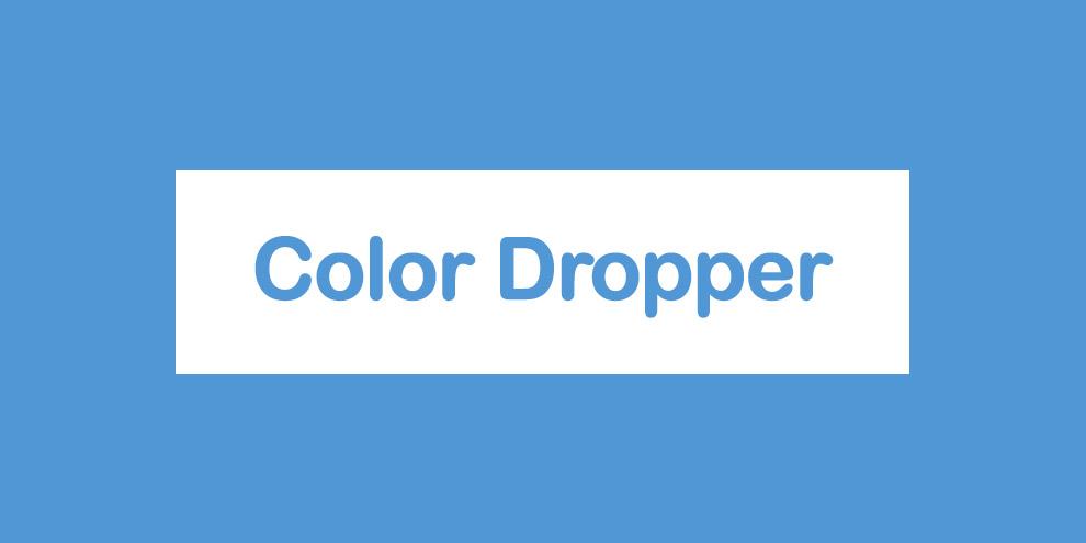 Color Dropper