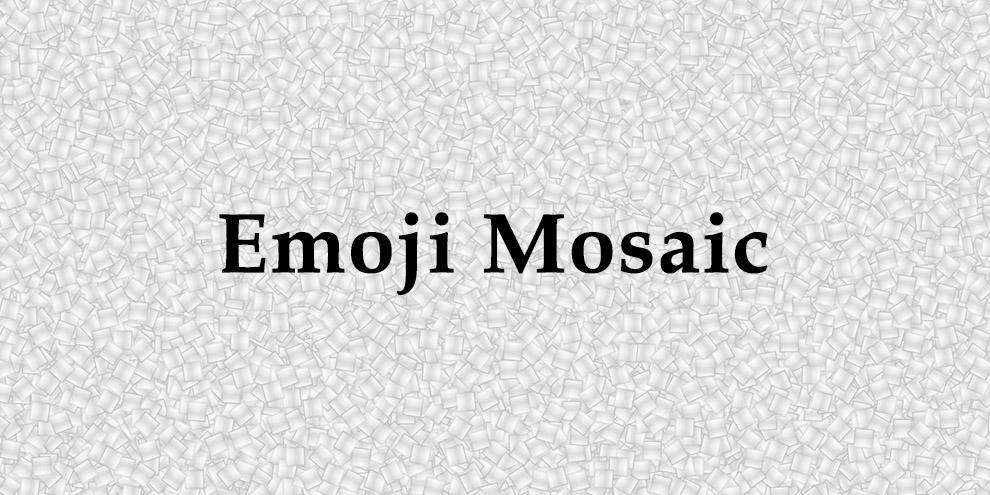 Emoji Moisac