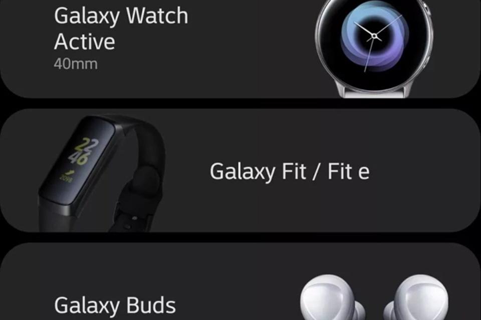 c7973cf50cf Oops! Samsung revela sem querer novos smartwatch