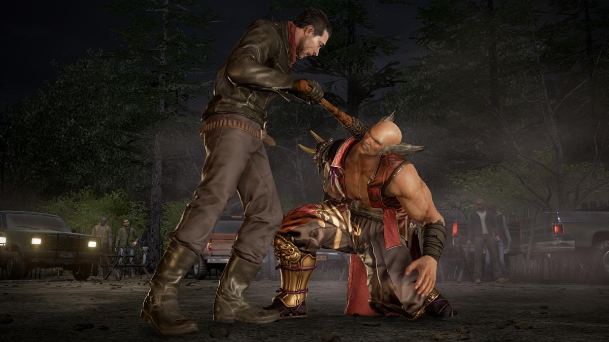 Negan e Julia Chang aparecem em mais screenshots de Tekken 7