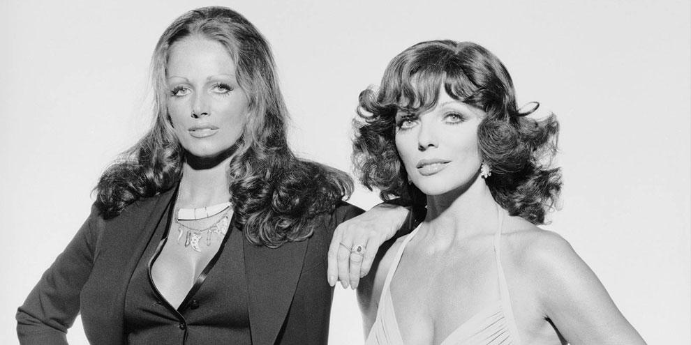 Vida das irmãs Jackie e Joan Collins será transformada em minissérie