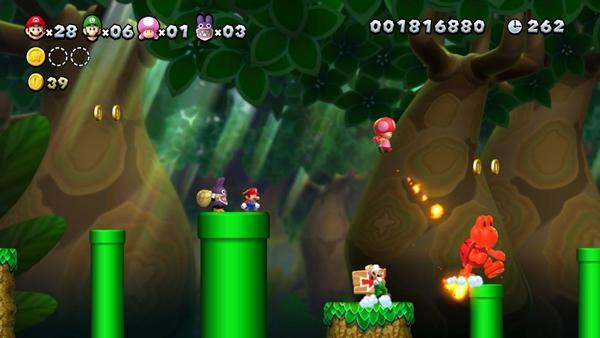 New Super Mario Bros. U Deluxe é um resgate ao estilo clássico de Mario