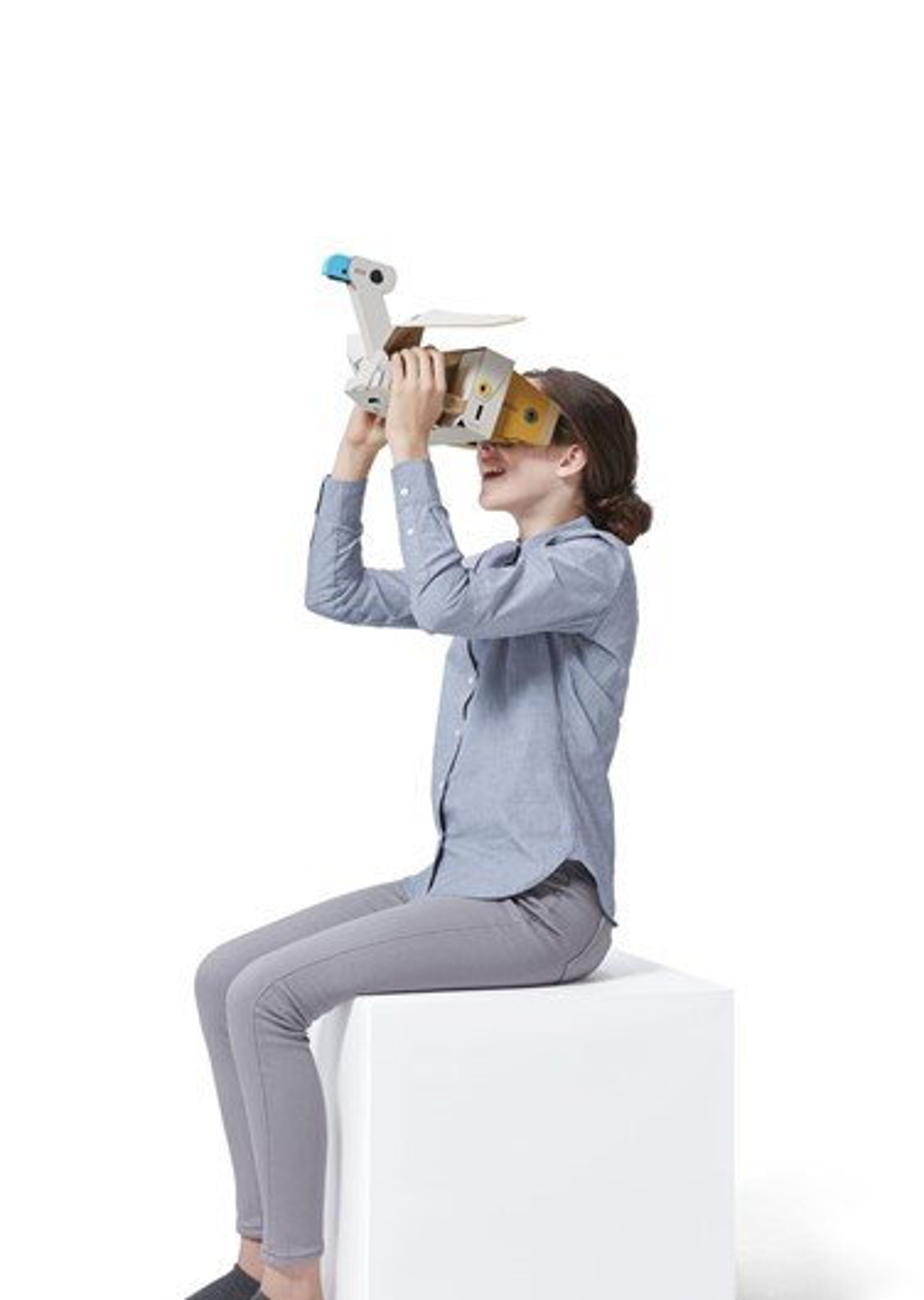 Nintendo Switch terá seu primeiro óculos VR com o Nintendo Labo em abril