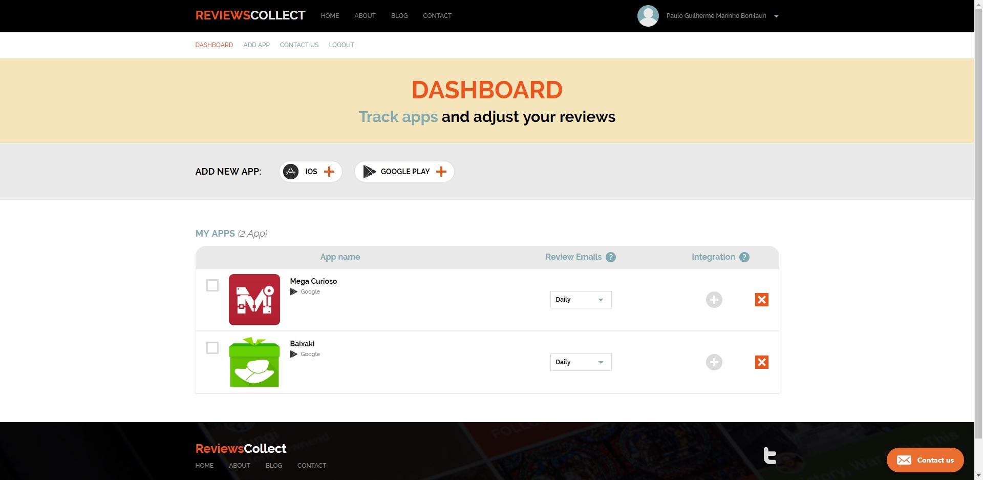ReviewsCollect - Imagem 1 do software