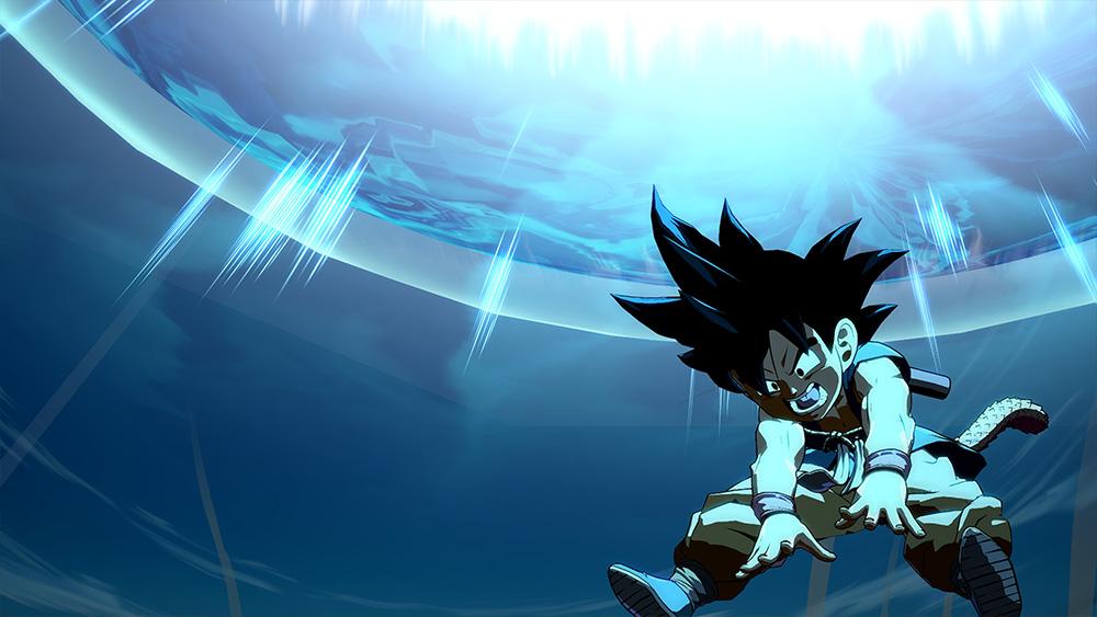 Imagens liberadas de Dragon Ball FighterZ mostram Goku da série GT em ação