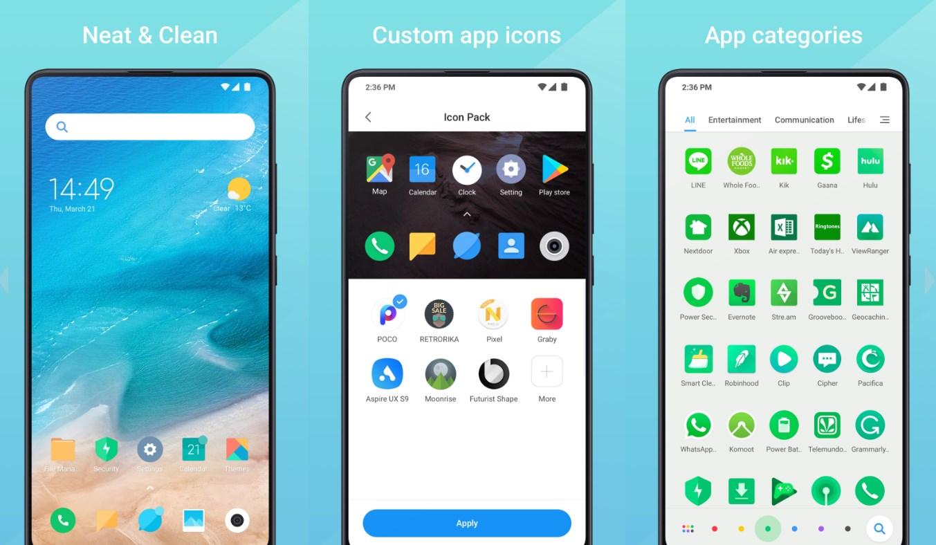 Mint Launcher da Xiaomi chega à Play Store