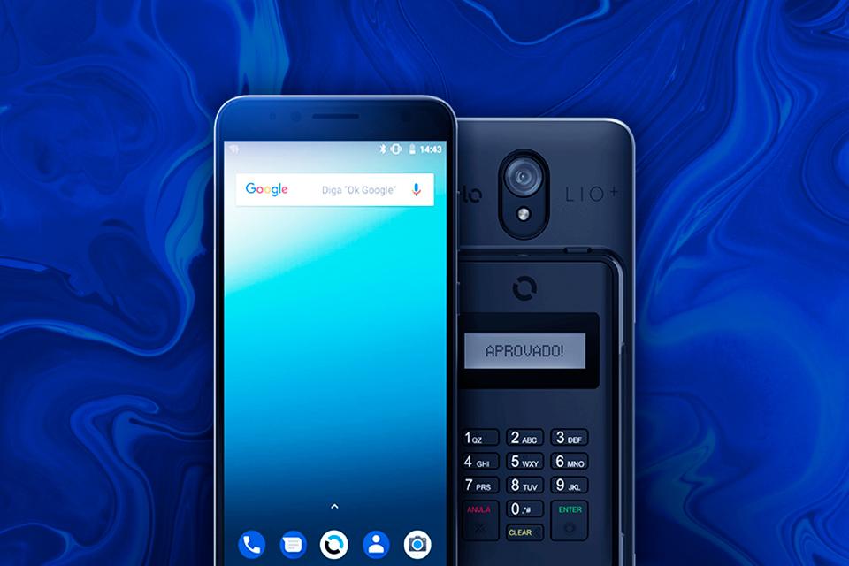 QnA VBage Cielo LIO+: conheça a maquinha de cartão que vem com um smartphone