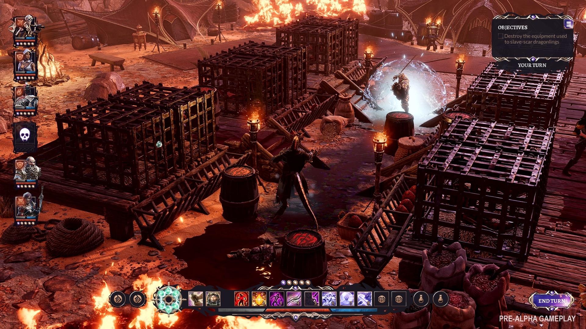 Fallen Heroes: novo game da Larian mistura Divinity com influências de XCOM