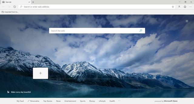 Microsoft Edge Insider - Imagem 1 do software