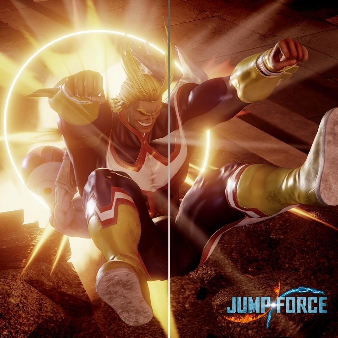 All Might, de Boku no Hero Academia, é o próximo DLC de Jump Force