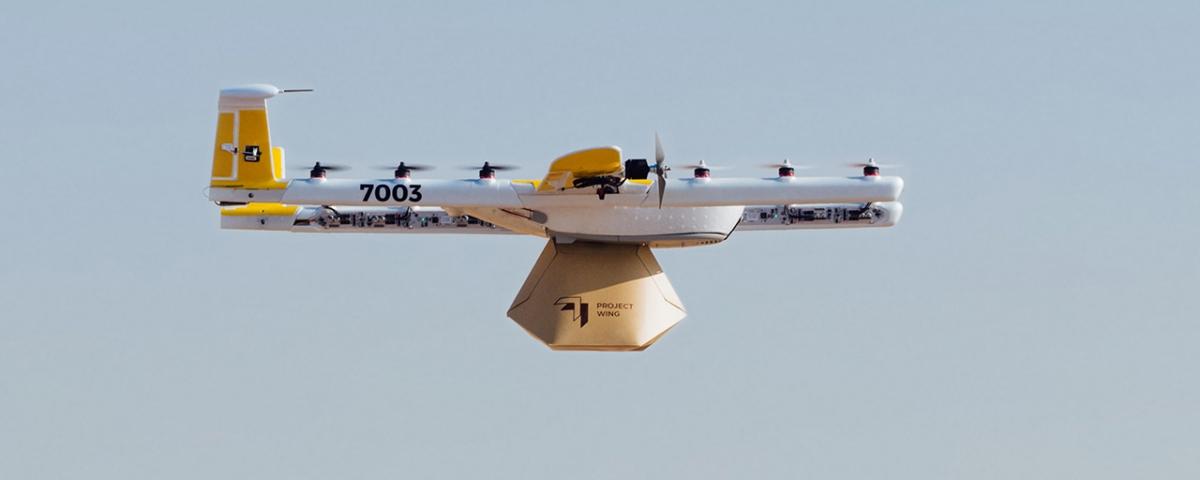 Empresa de drones da Google inicia serviço de entregas na Austrália