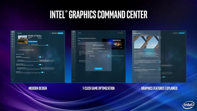 Intel Graphics Drivers 26.20.100.6709 - Imagem 1 do software