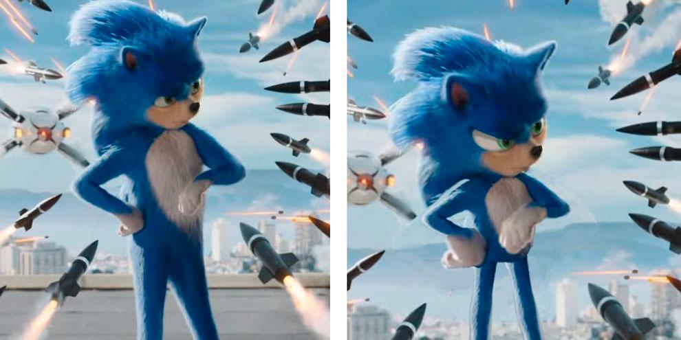 Sonic: diretor promete mudar design do personagem após polêmica