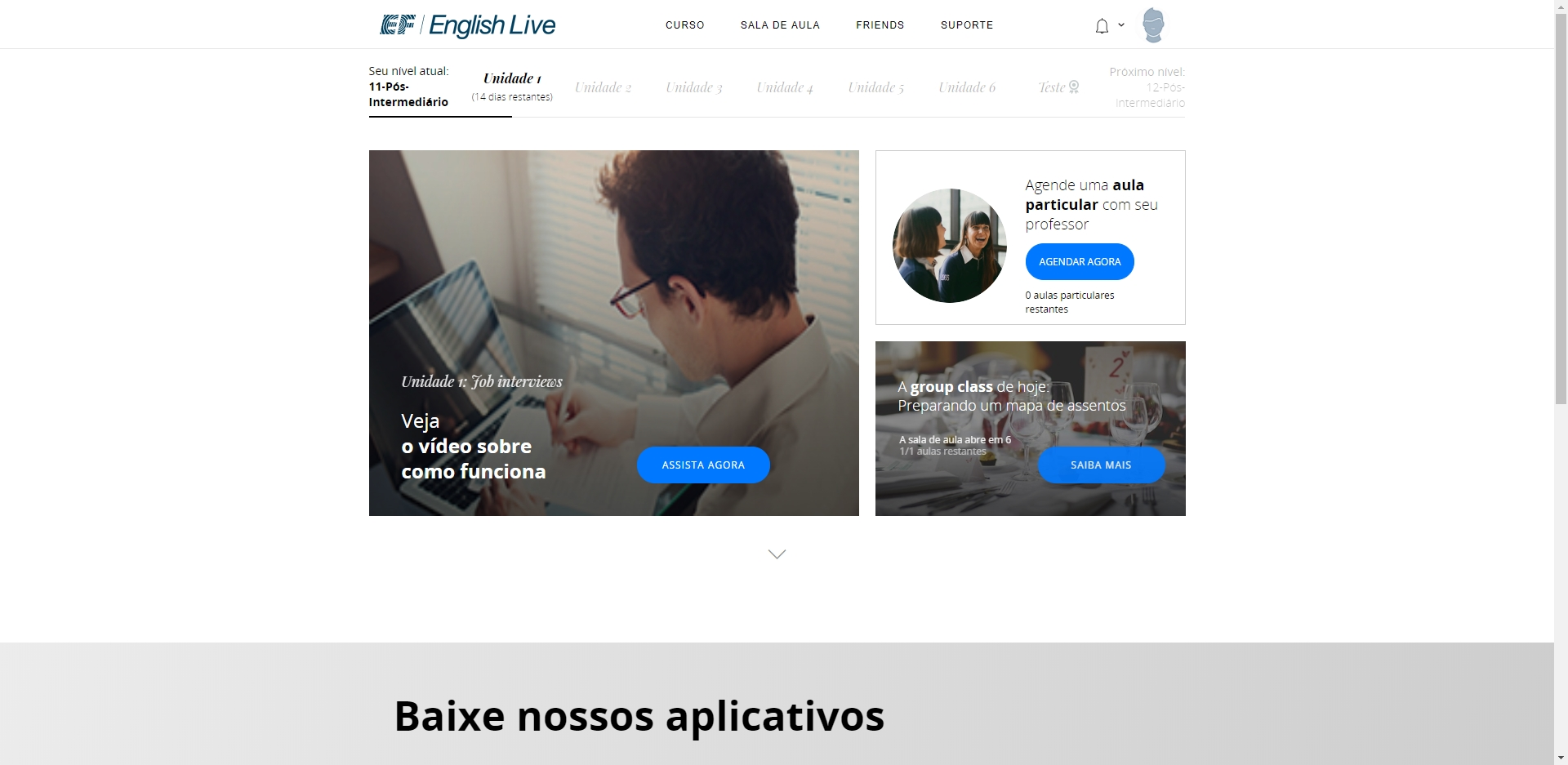 English Live - Imagem 1 do software