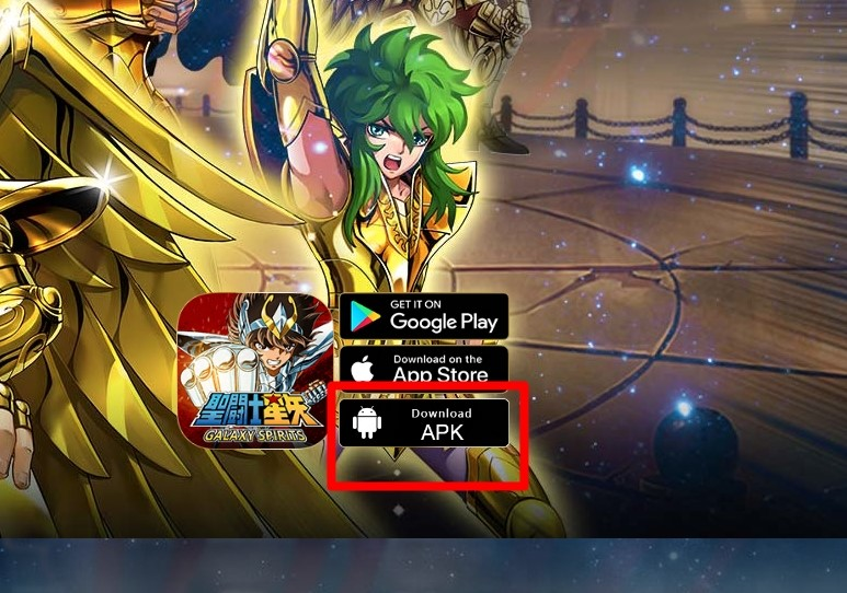 Saint Seiya: Galaxy Spirits APK