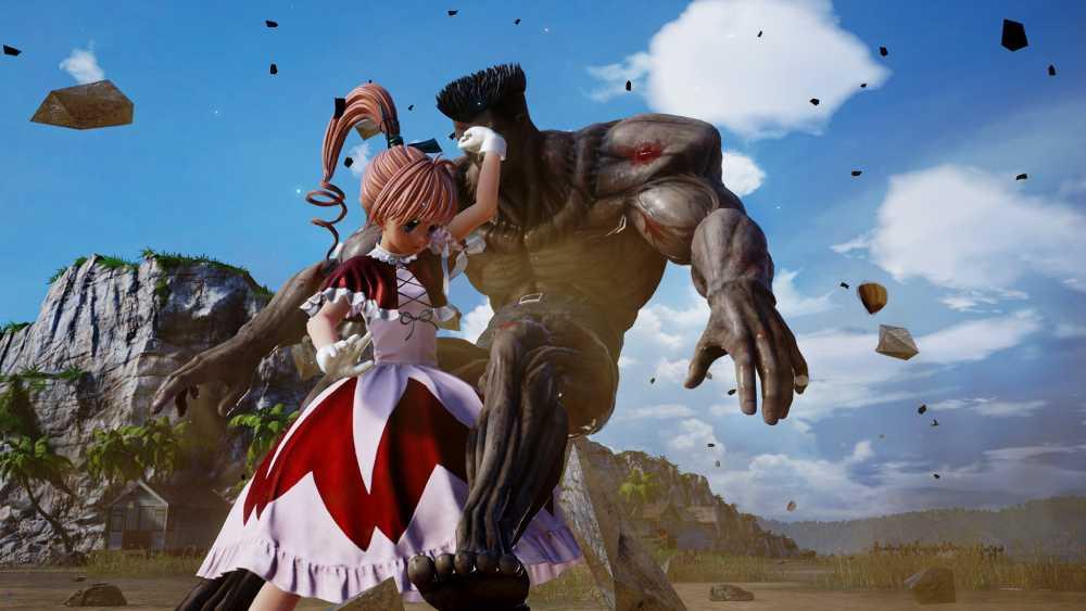 Divulgadas imagens da nova personagem DLC de Jump Force, Biscuit Krueger