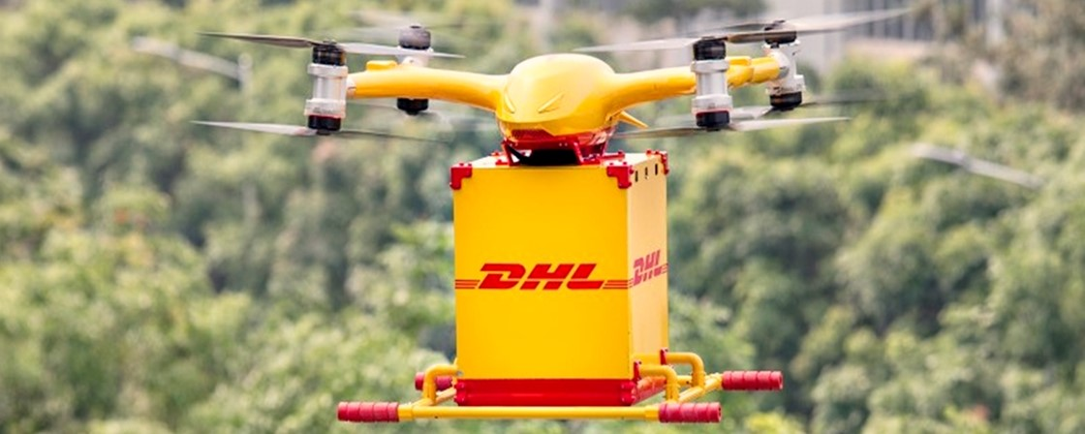 Drone entrega encomenda em novo sistema automatizado na China ...