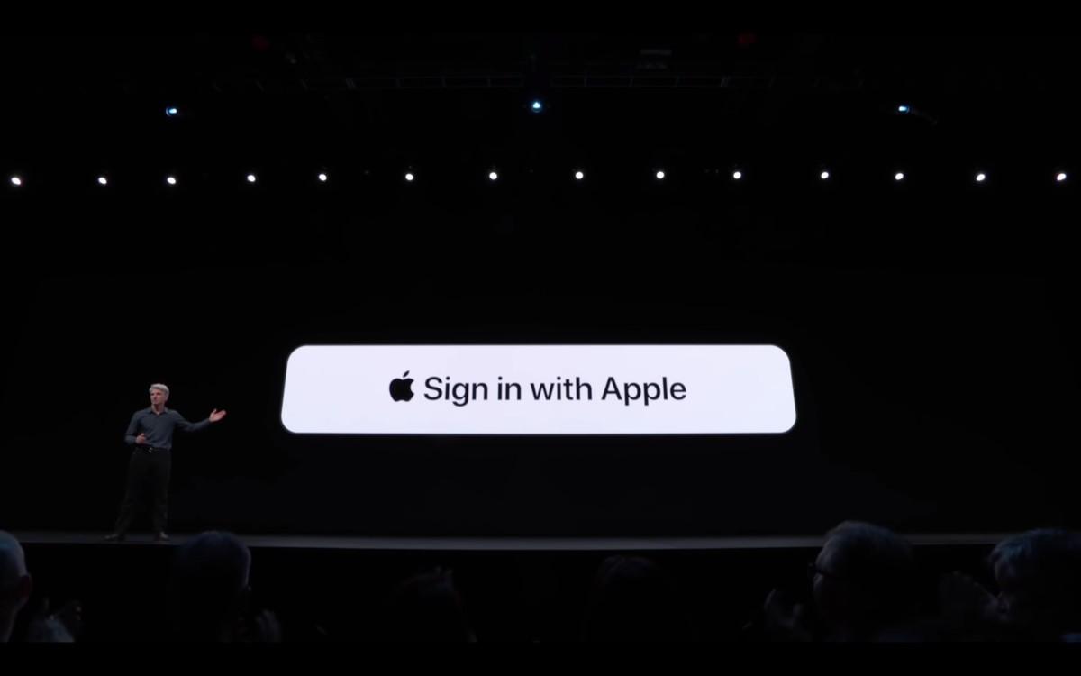 'Sign in with Apple': diferença sobre os botões Google, Facebook e Twitter
