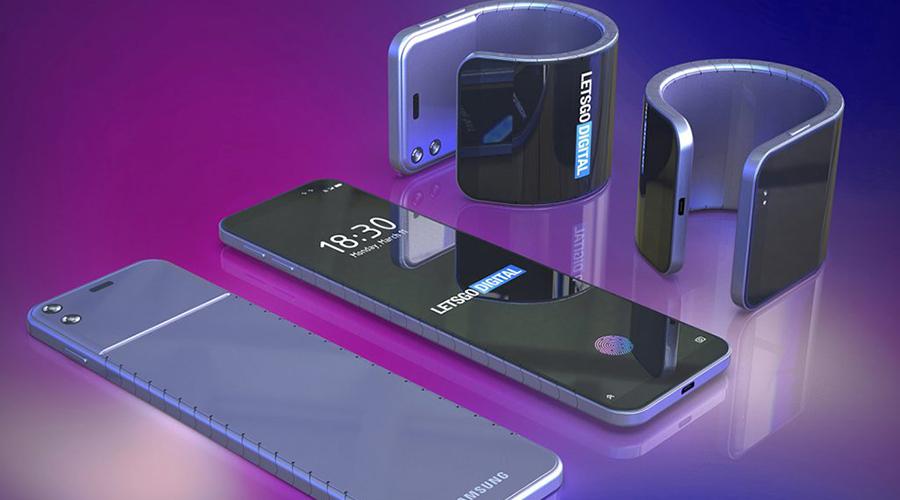 celular enrolável da samsung