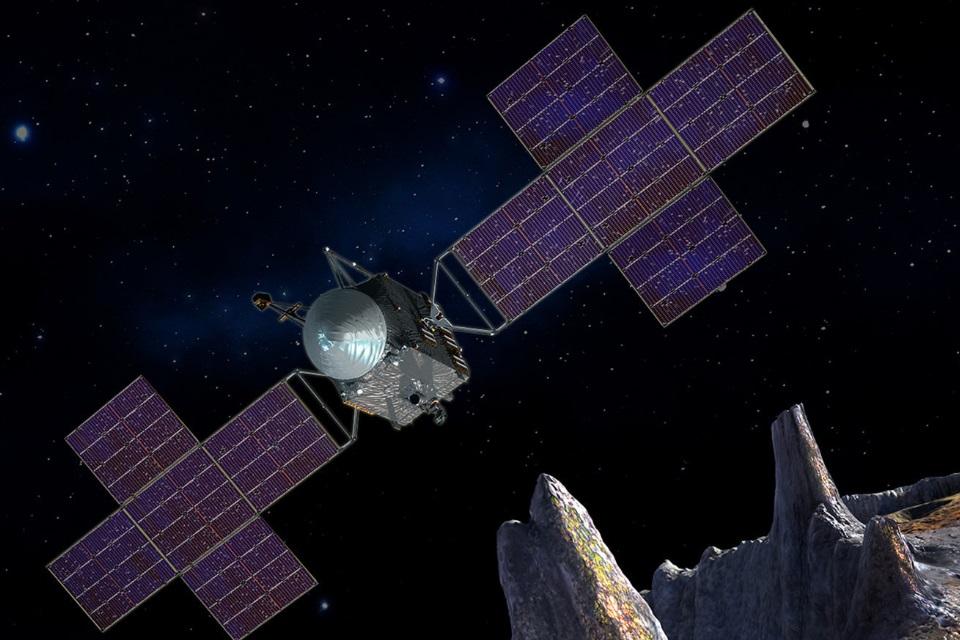 NASA deve lançar missão para explorar misterioso asteroide Psyche em 2022