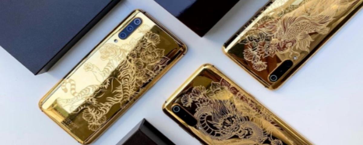 Imagem de: Mi 9: Xiaomi revela versão luxuosa Golden Dragon do top de linha