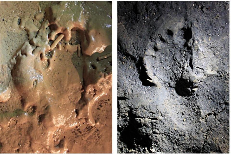 Pegadas de 14 mil anos sugerem como os humanos se comportavam