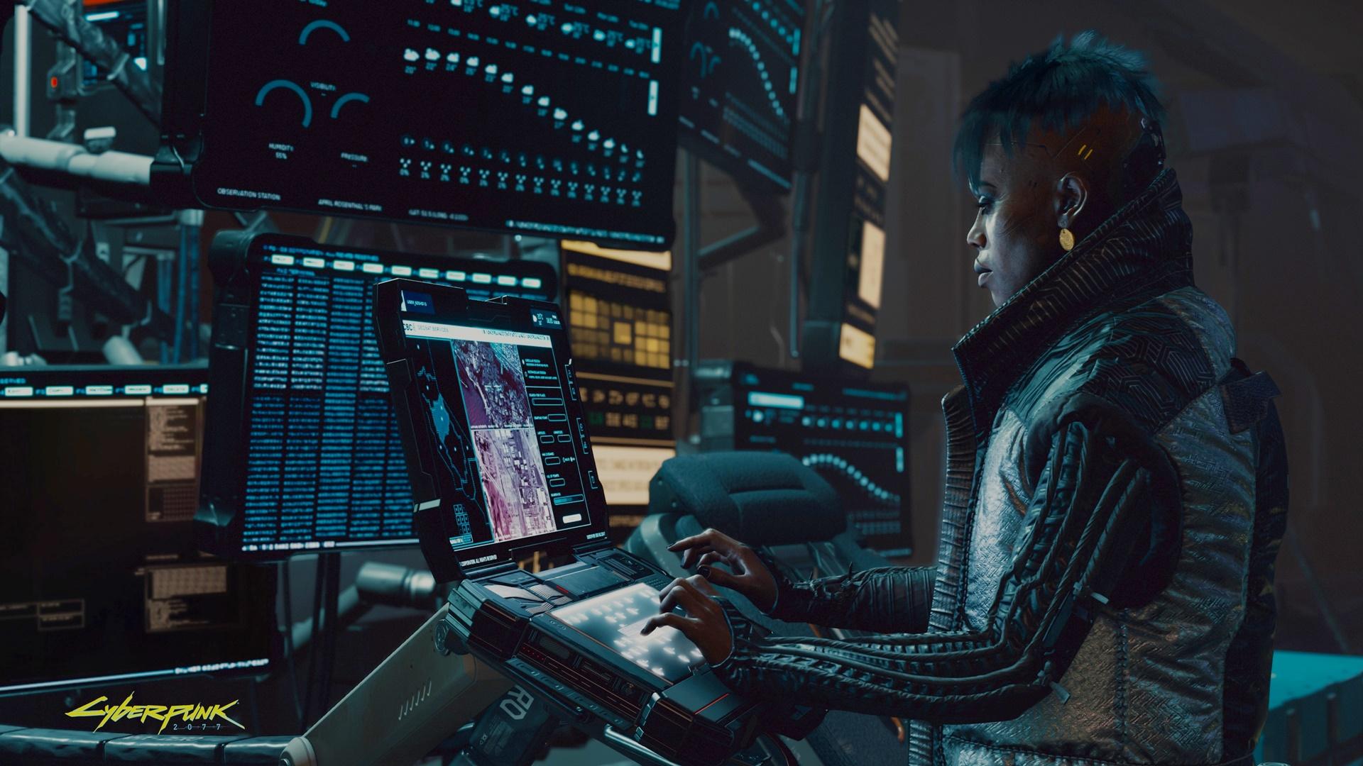 cyberpunk techie