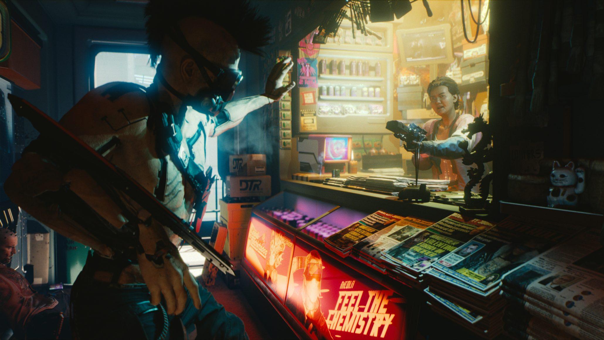 cyberpunk vendedores