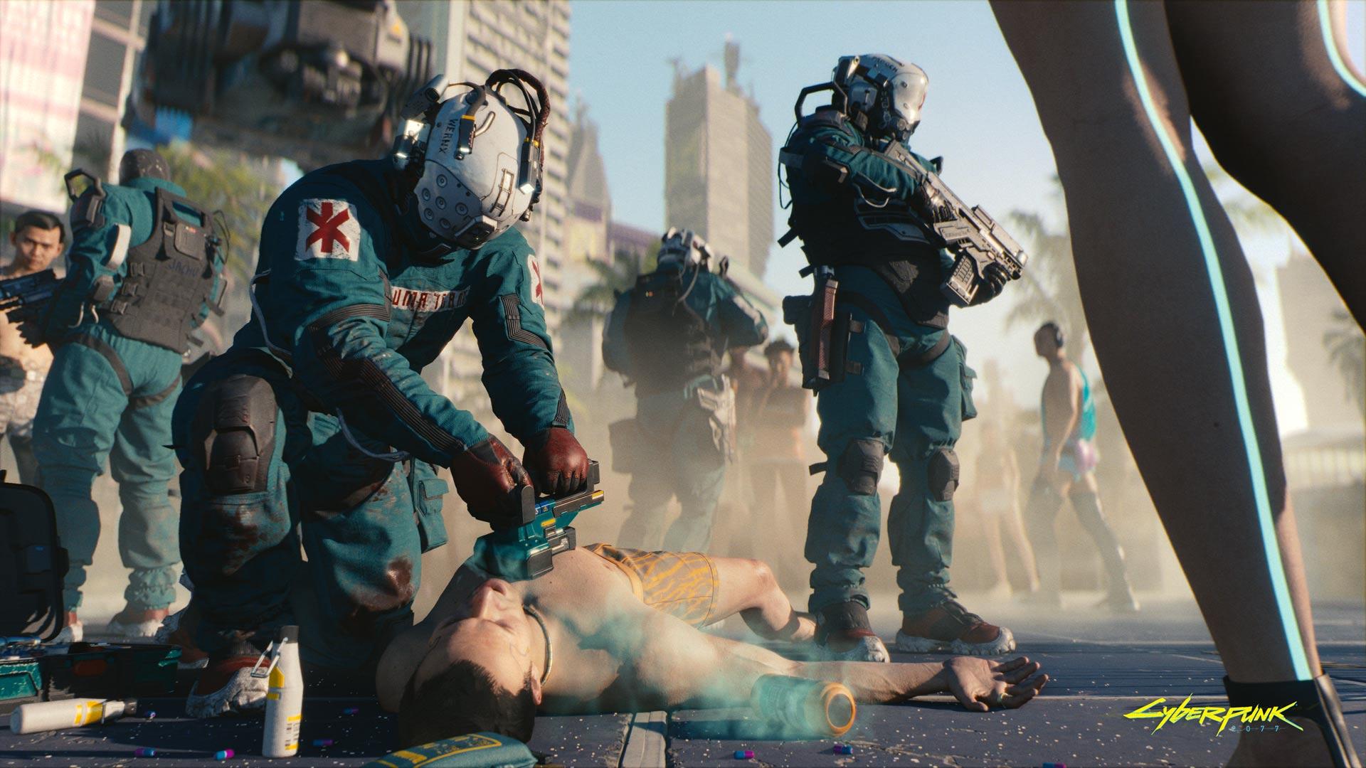 trauma team cyberpunk