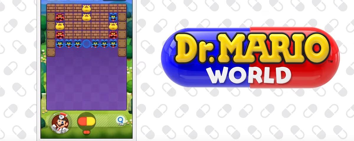 Dr  Mario mobile chega em 10 de julho para Android e iOS