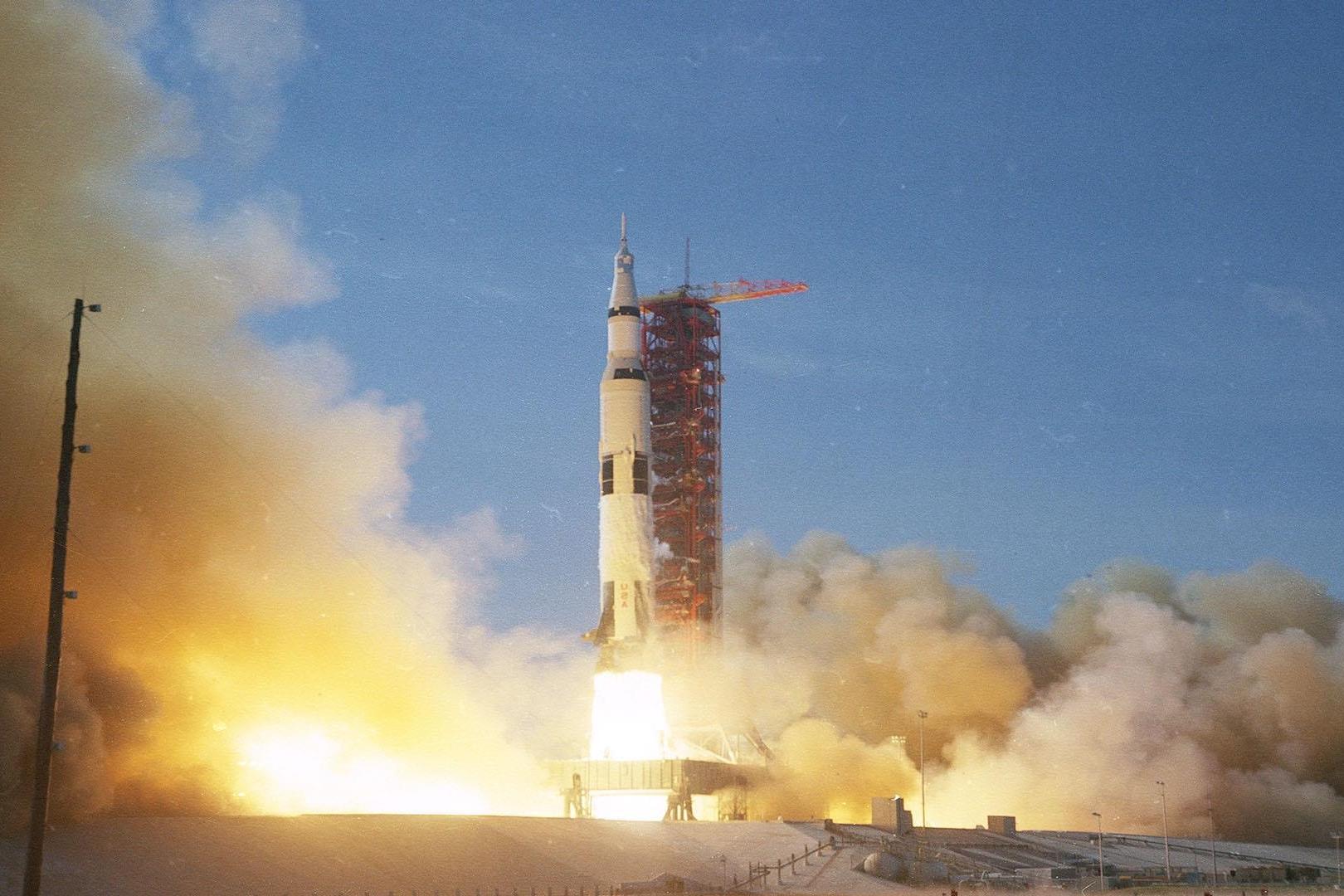 Lançamento da Apollo 11 com os primeiros a pisarem na Lua foi há 50 anos