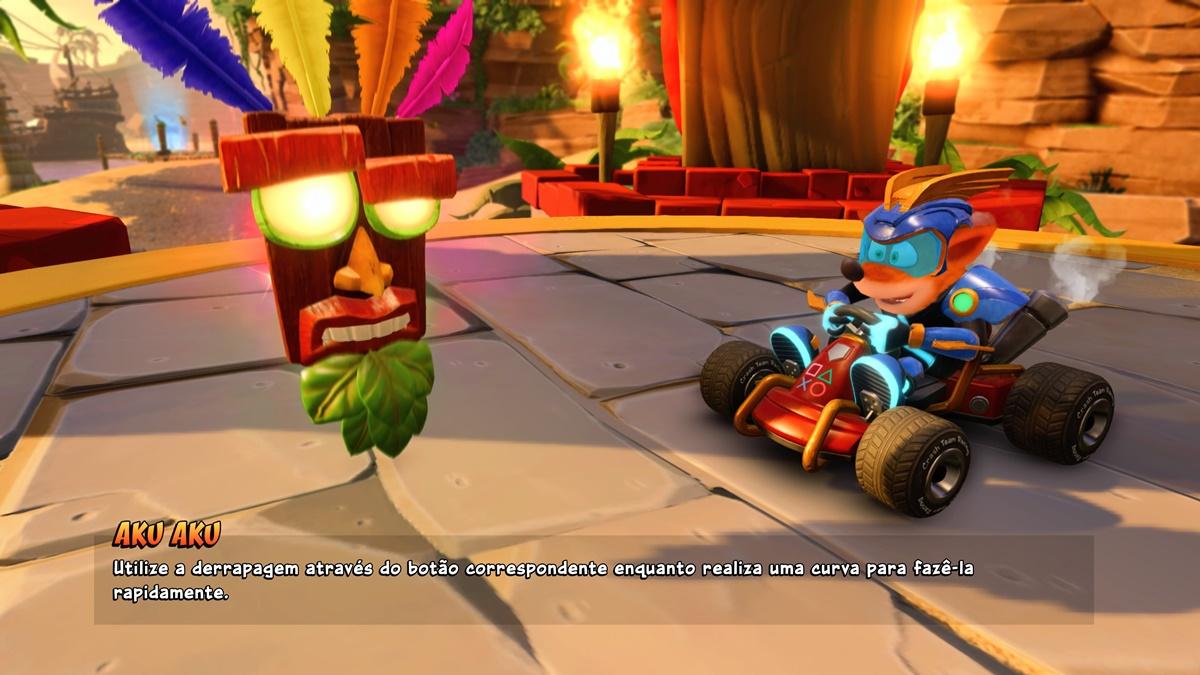 Análise de Crash Team Racing: Nitro Fueled - Voxel