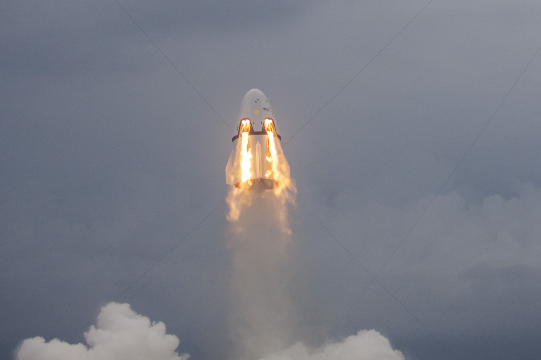 spacex dragon explosion - HD1739×1159