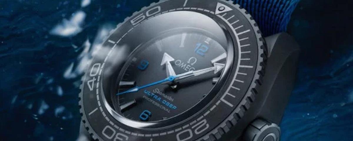 Imagem de: 10 mil metros: relógio da Omega bate recorde de mergulho mais profundo