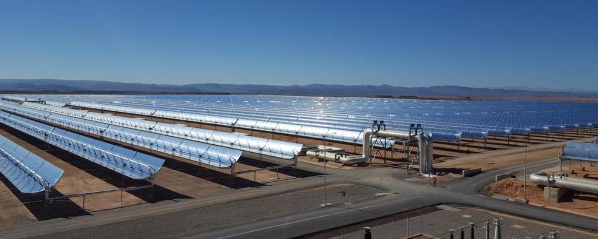 Imagem de: Maior fazenda solar do mundo é inaugurada nos Emirados Árabes Unidos