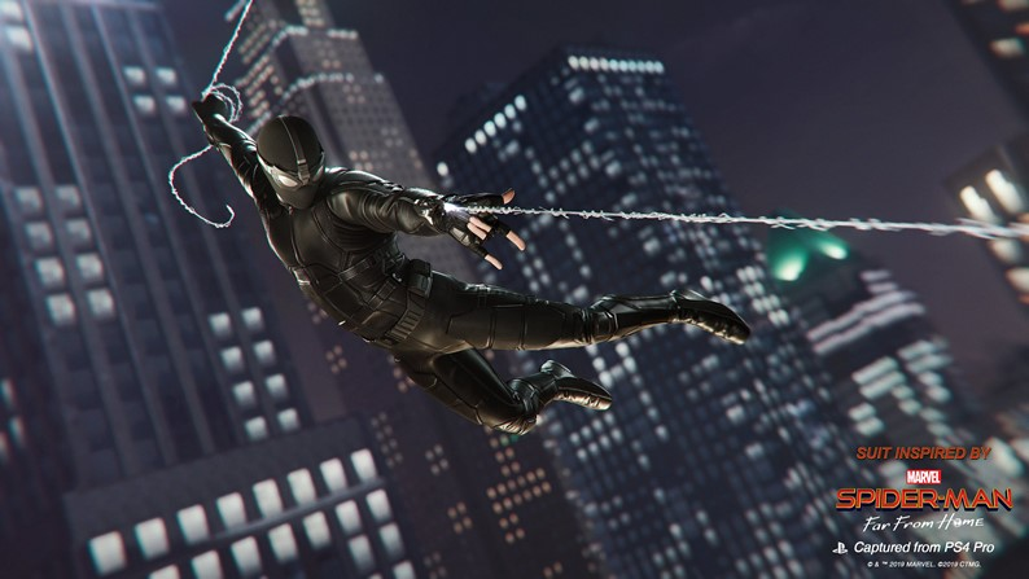 """Spider-Man de PS4 ganha duas roupas do filme """"Homem-Aranha: Longe de Casa"""""""
