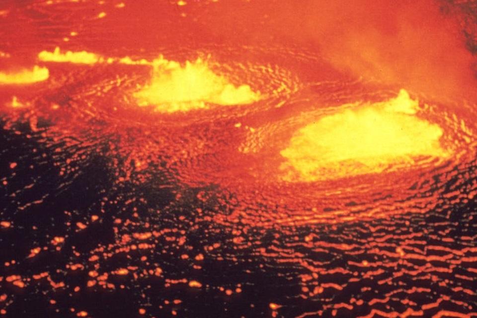 Lago de lava imenso e super-raro é descoberto na região subantártica