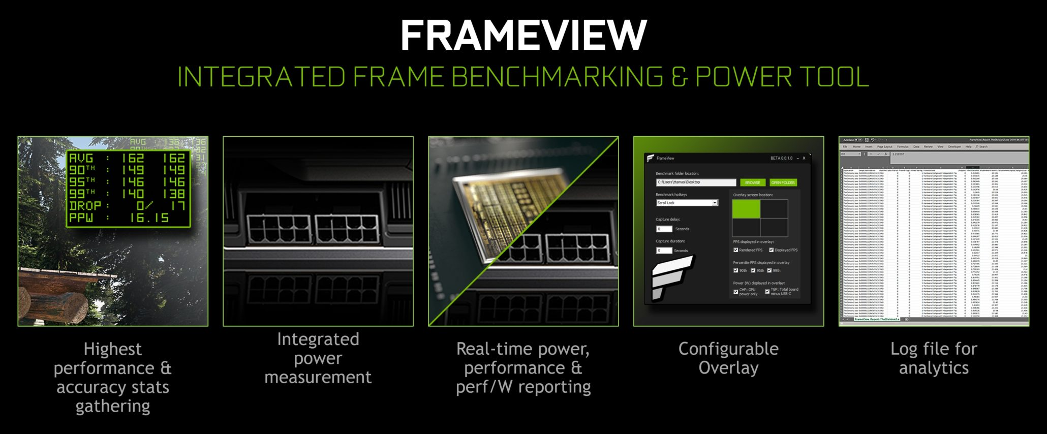 Geforce FrameView - Imagem 1 do software