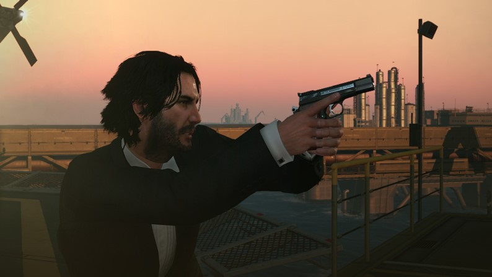 Mod de Metal Gear Solid V substitui Snake por Keanu Reeves