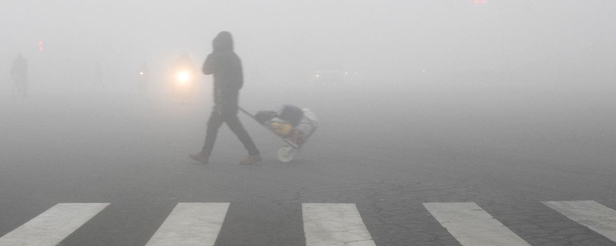 Painéis solares têm eficácia afetada por altos índices de poluição na China