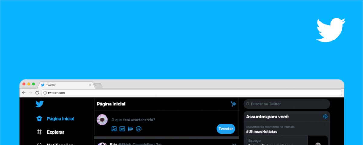 Twitter lança novo visual da versão web para todos