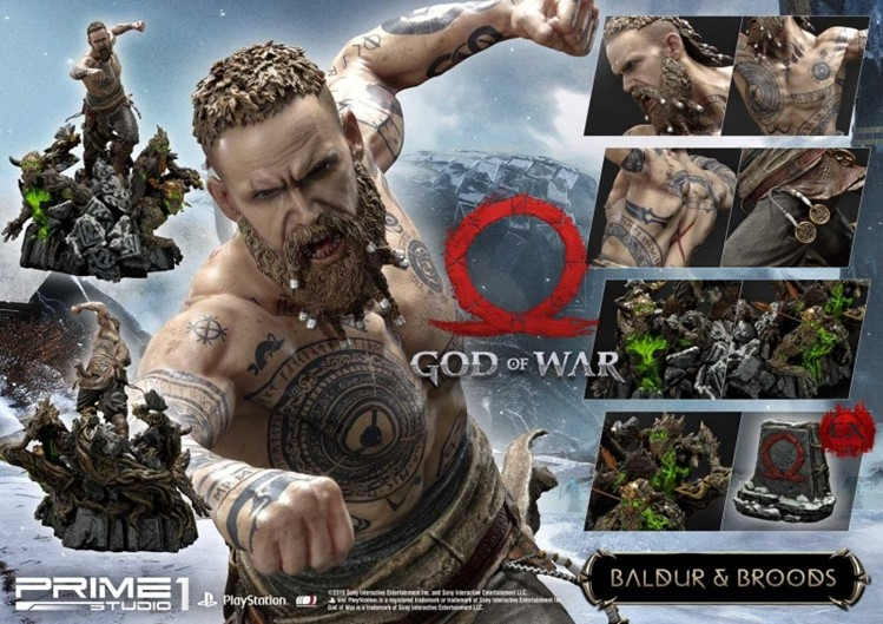 Sonho de consumo: estátua de Baldur, de God of War, é MUITO linda – e cara