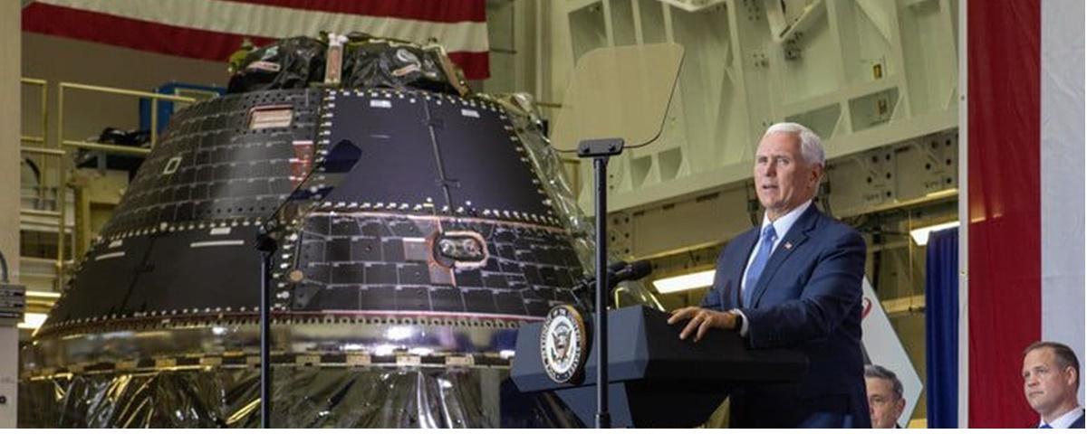 NASA conclui cápsula Orion que levará tripulação à Lua até 2022