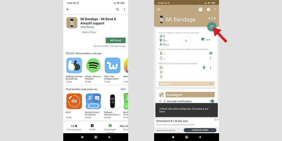 Xiaomi Mi Band 4: como mudar o idioma da nova geração