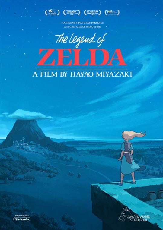 The Legend of Zelda ganha animação com traços estilo Studio Ghibli
