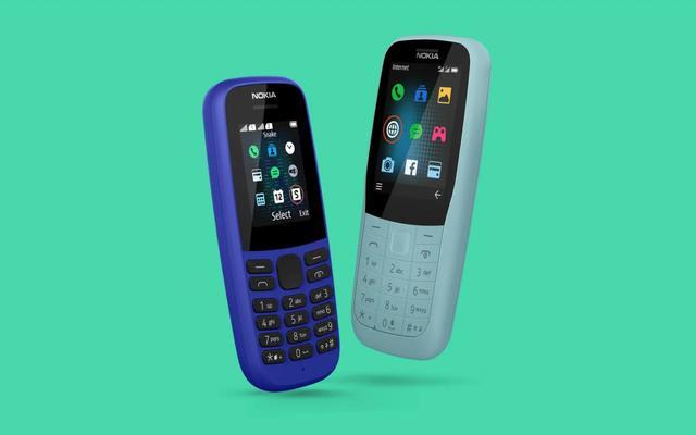 Nokia 105 e Nokia 220 4G