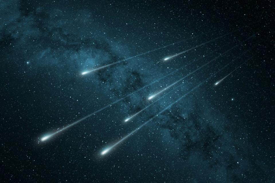 Agenda cósmica: 2 chuvas de meteoros devem agitar o céu nesta semana